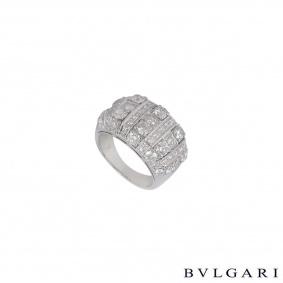 Bvlgari White Gold Diamond Ring